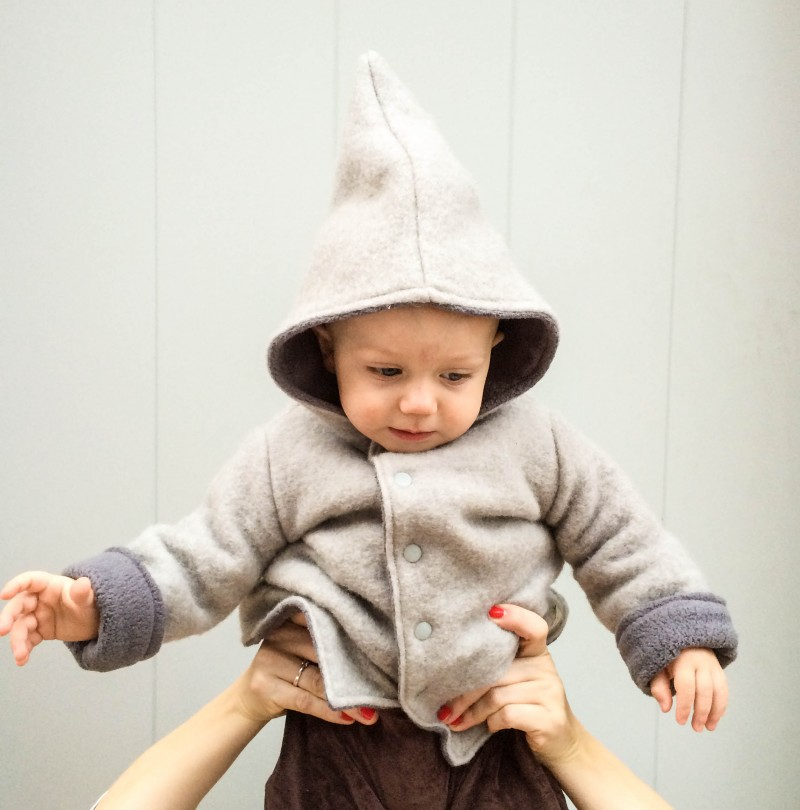 Walkjacke, Babyjunge