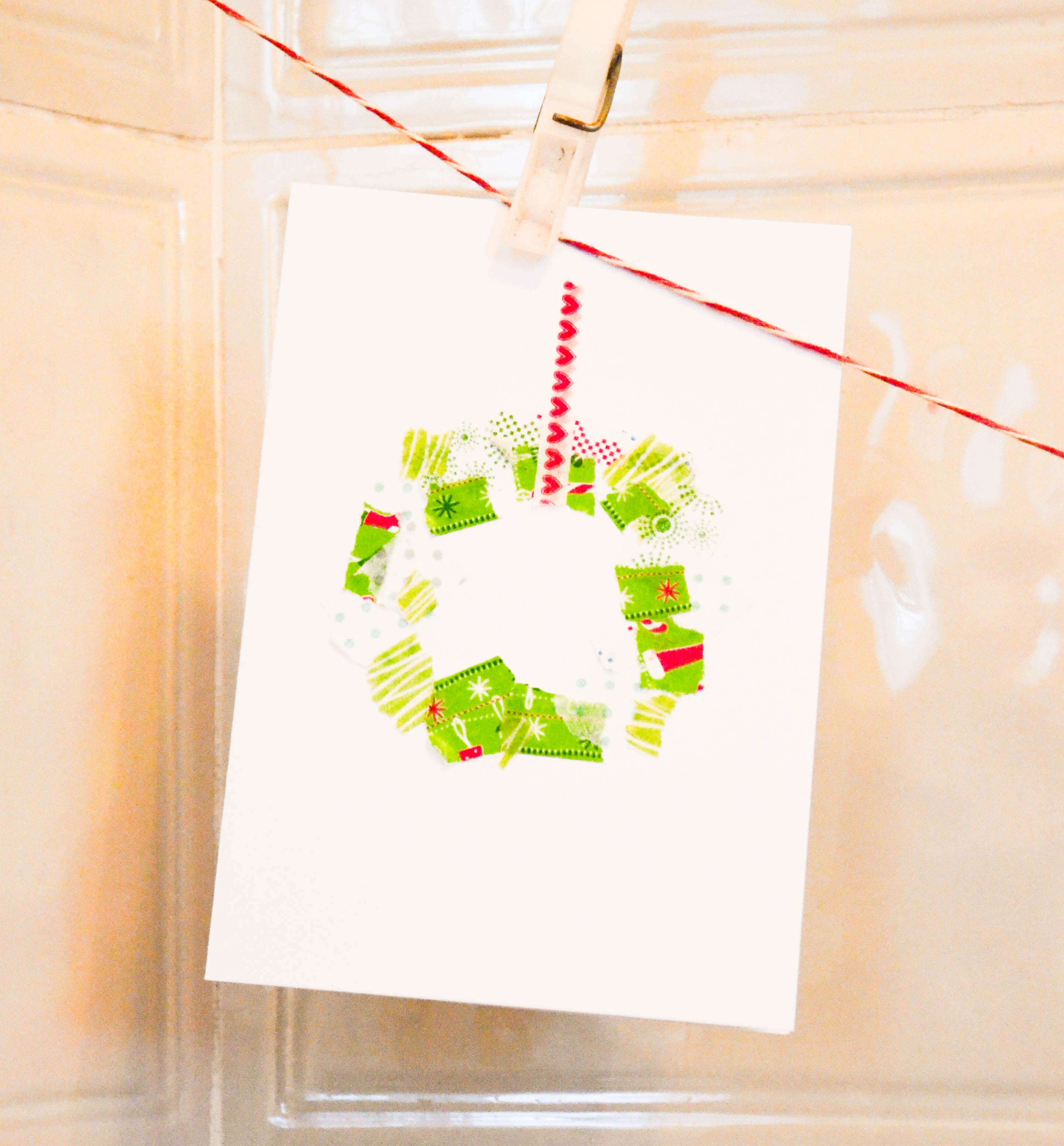 Drei Ideen für Weihnachtskarten - wasfürmich