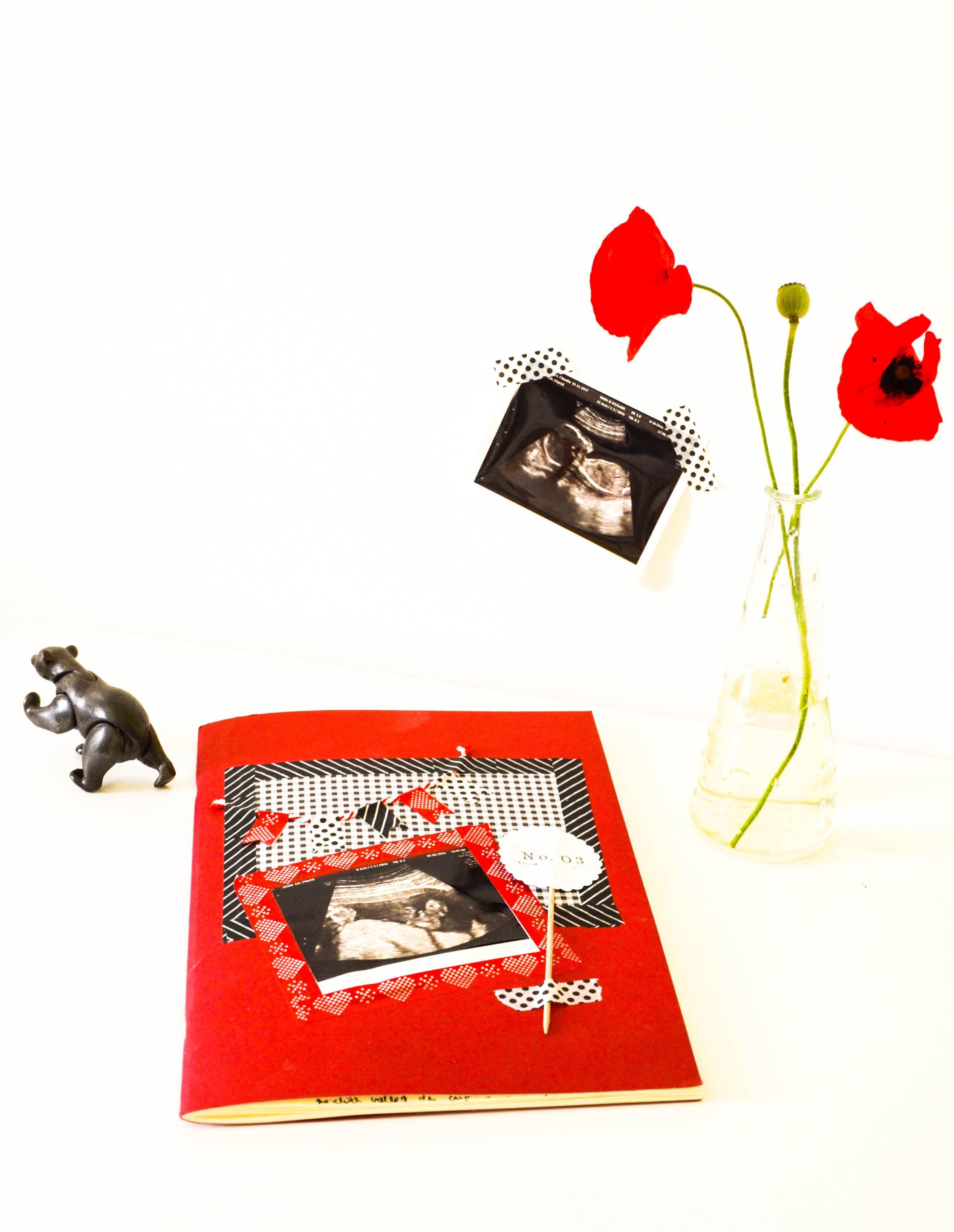 Hübsches Babytagebuch