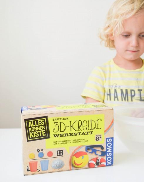 Kosmos Verlag, AllesKönnerKiste, Basteln mit Kindern, Kreide