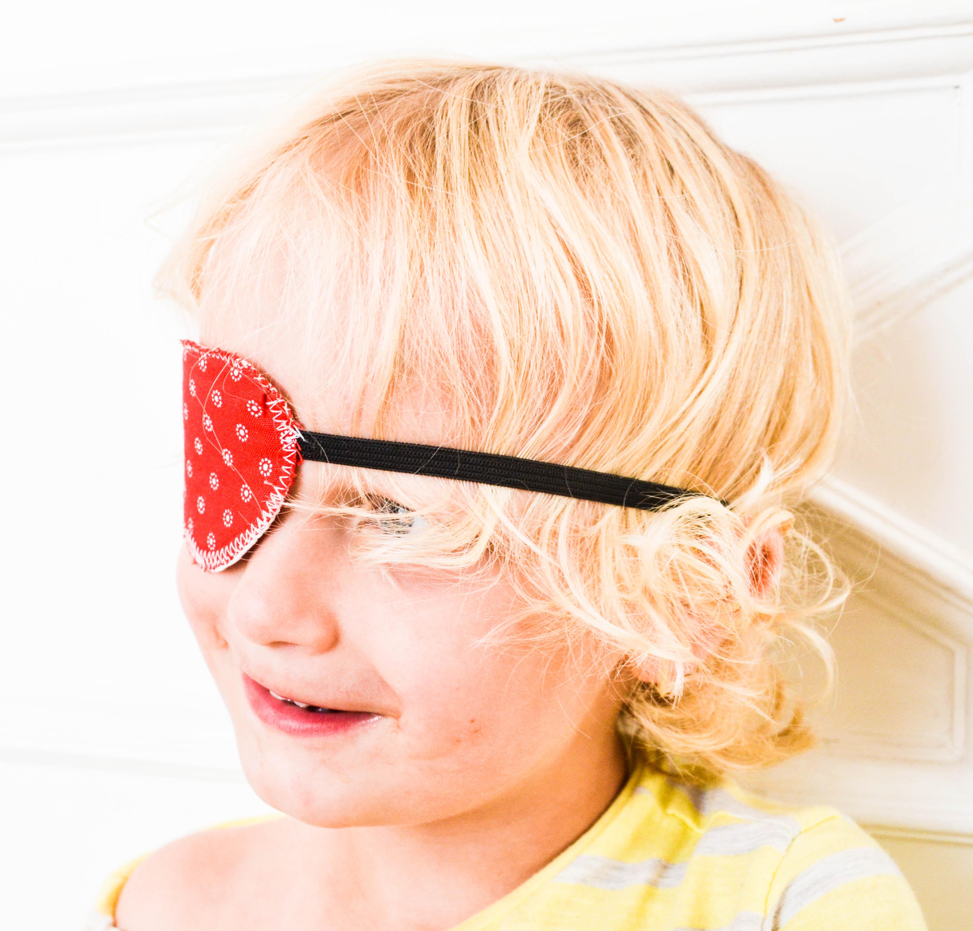 Augenklappe, Piratenklappe selbstnähen