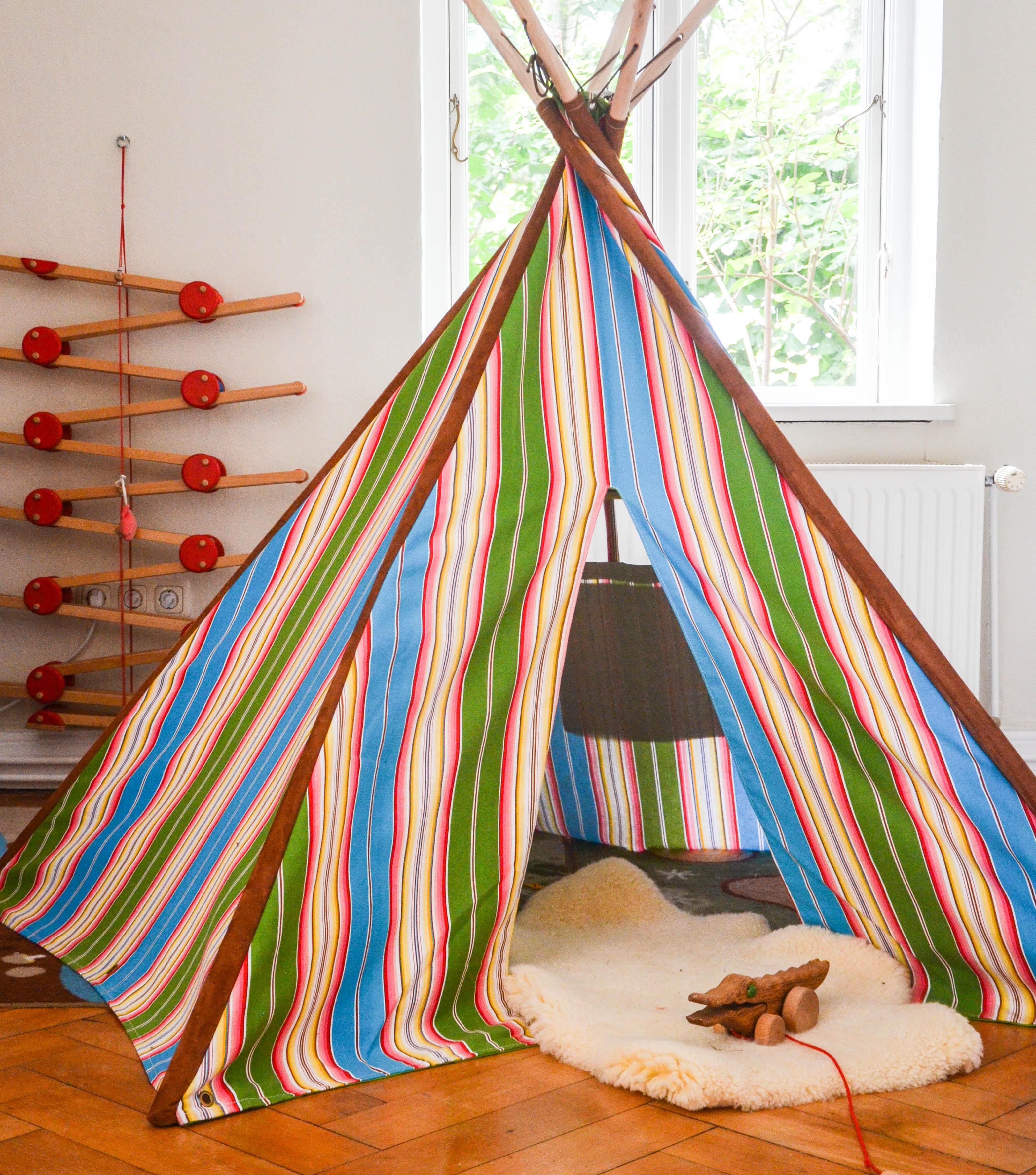 Tipi fürs Kinderzimmer