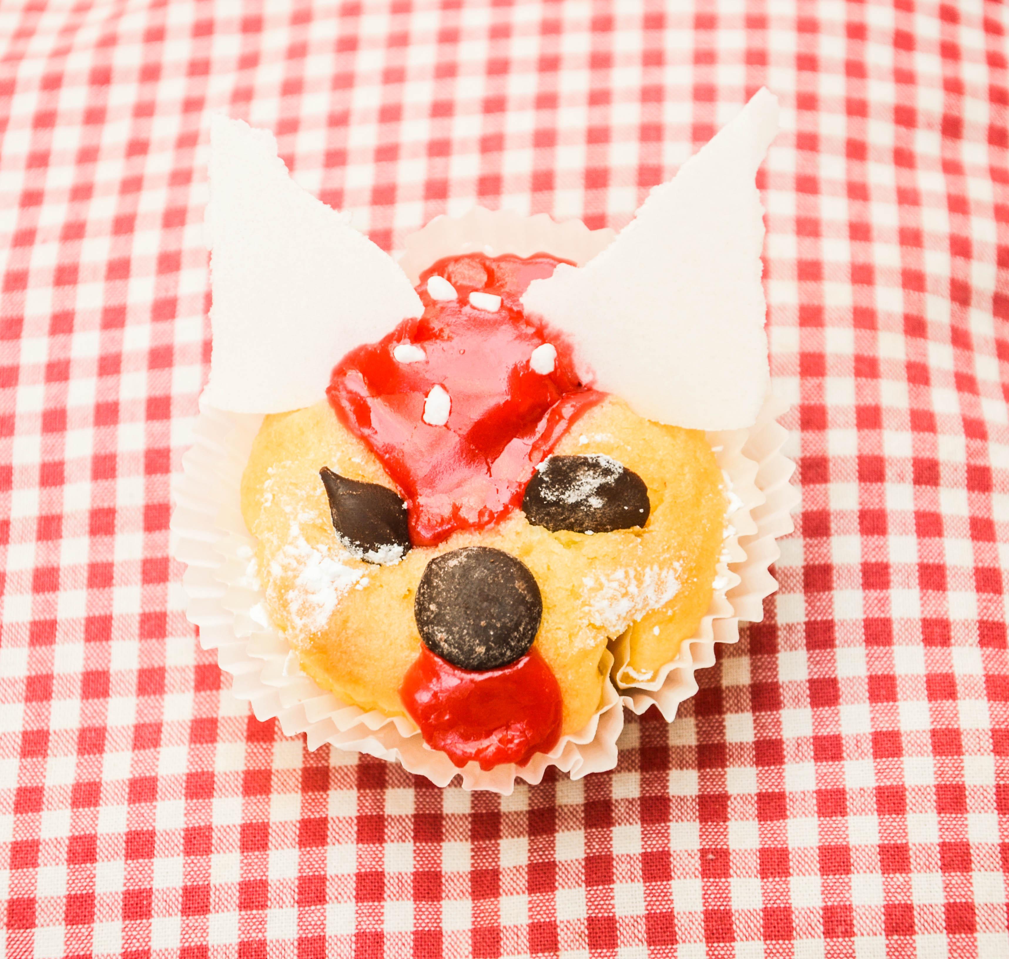 Fuchskuchen, Muffin Kindergeburtstag