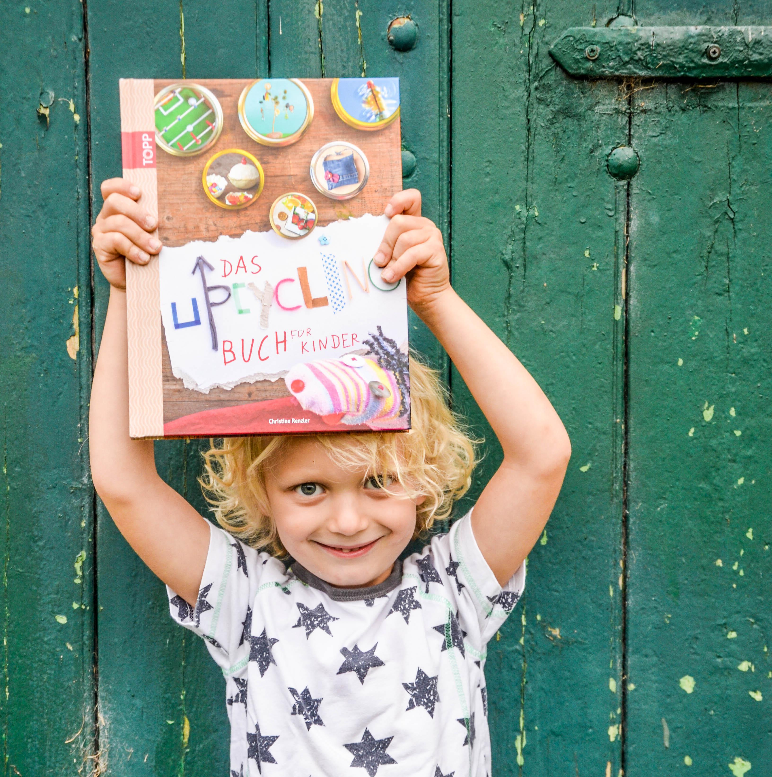 Bastelbuch, Das Upcycling Buch für Kinder, Frechverlag