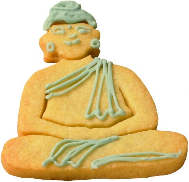 Buddha Ausstechform, mycupcake, Kekse backen
