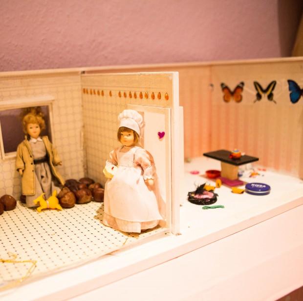 alte Puppenstube, Kinderzimmer,