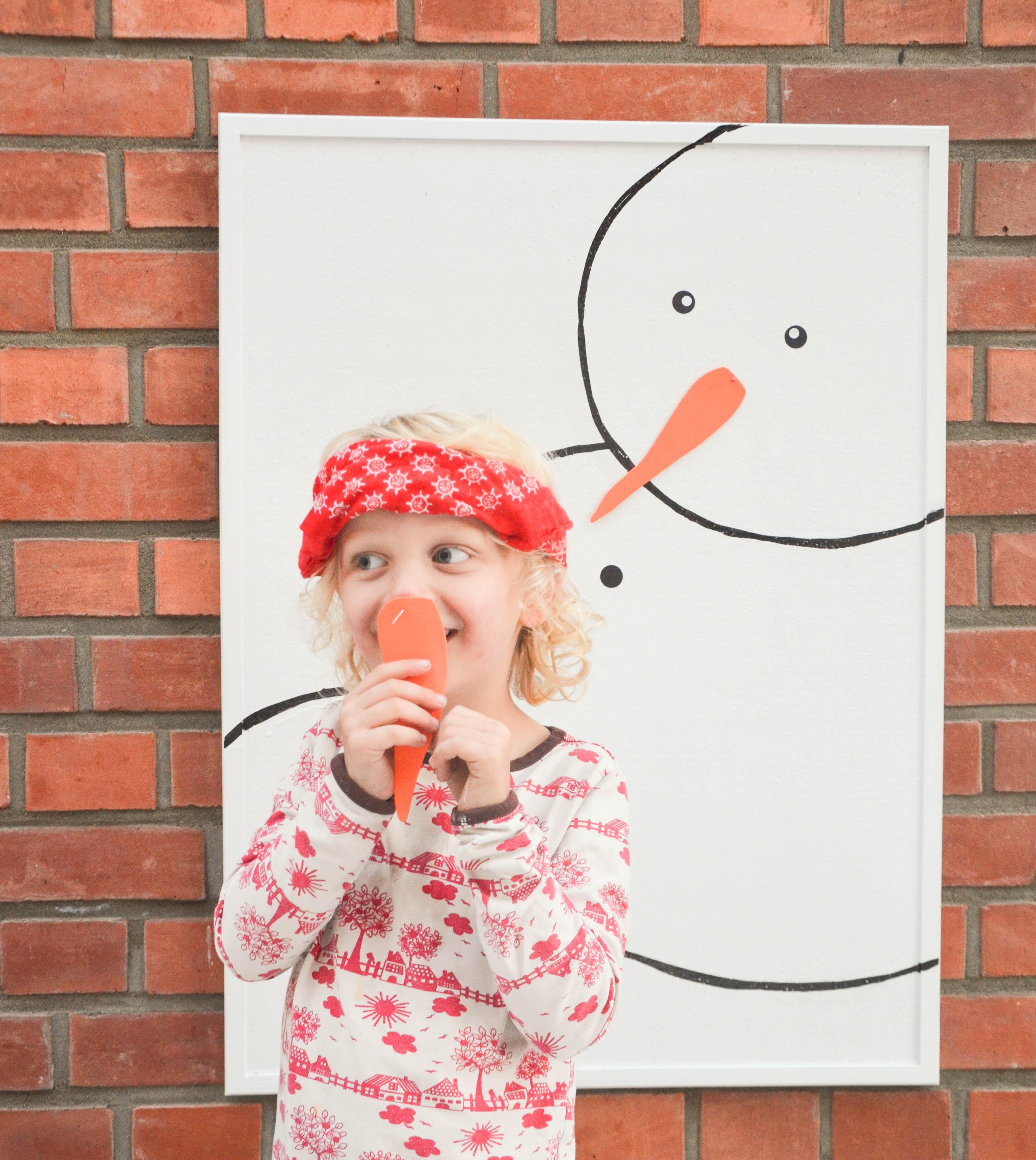 Weihnachten, Schneemann, Basteln mit Kindern