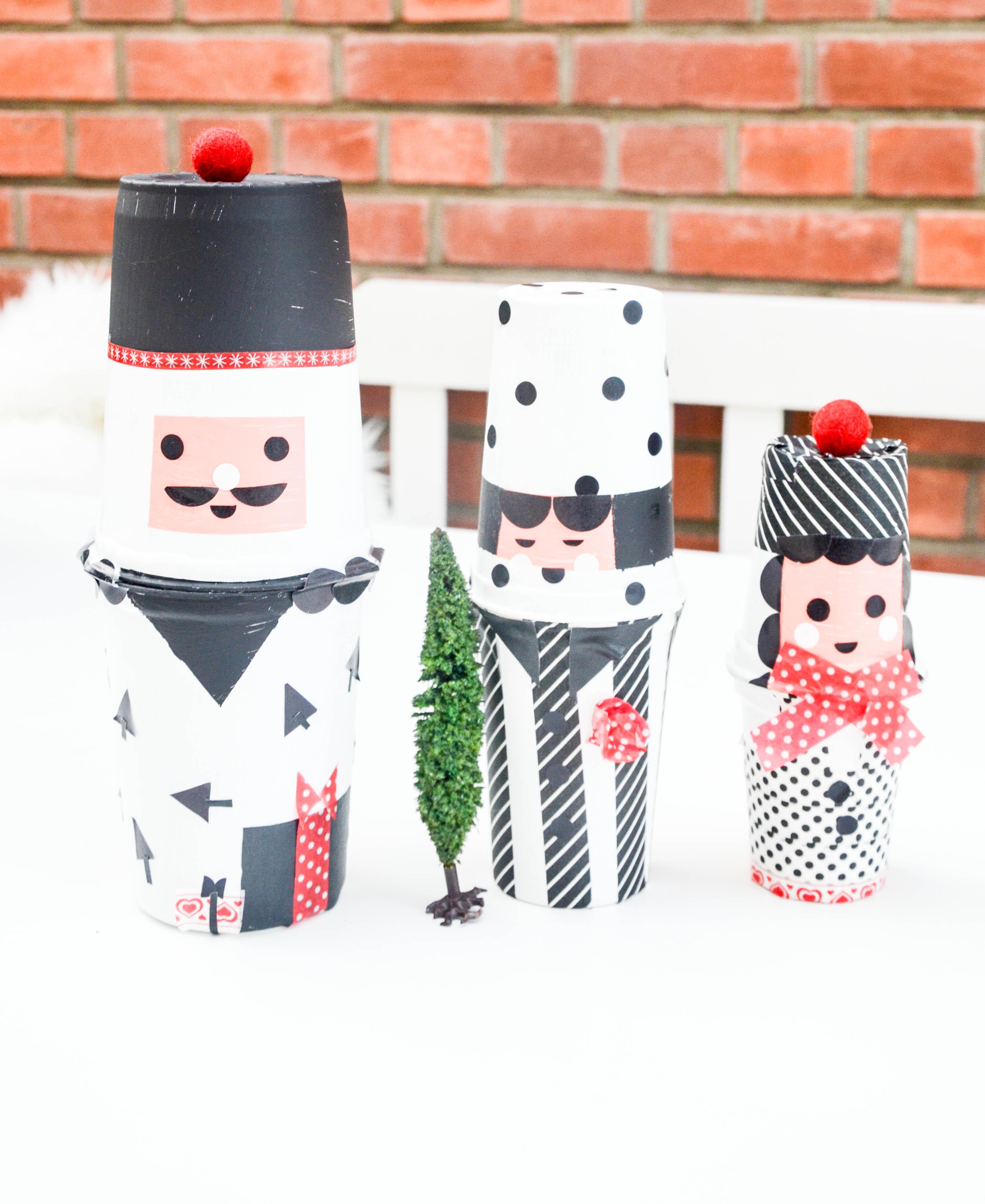 Weihnachten, Basteln mit Kindern, Matroschkas  basteln