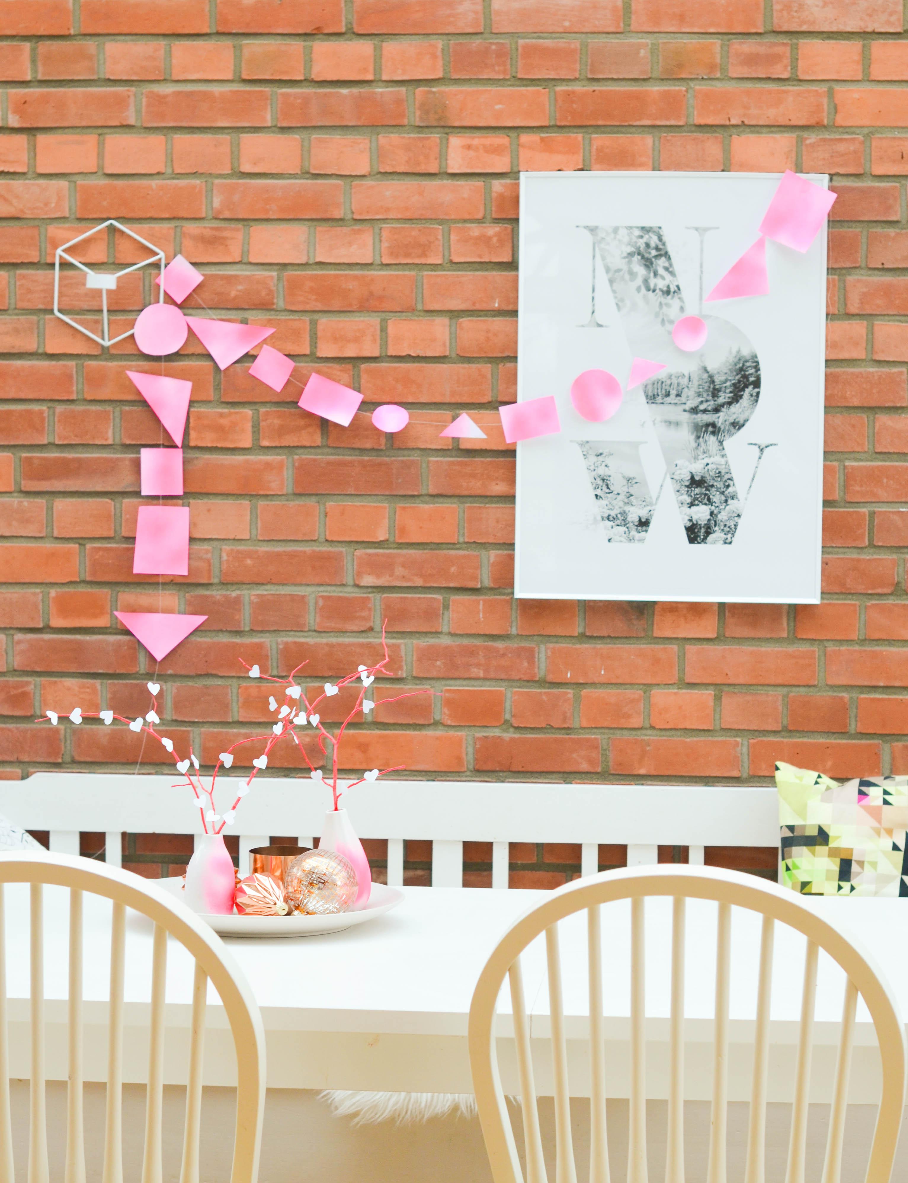 Valentinstag, Liebe, pink, Deko,