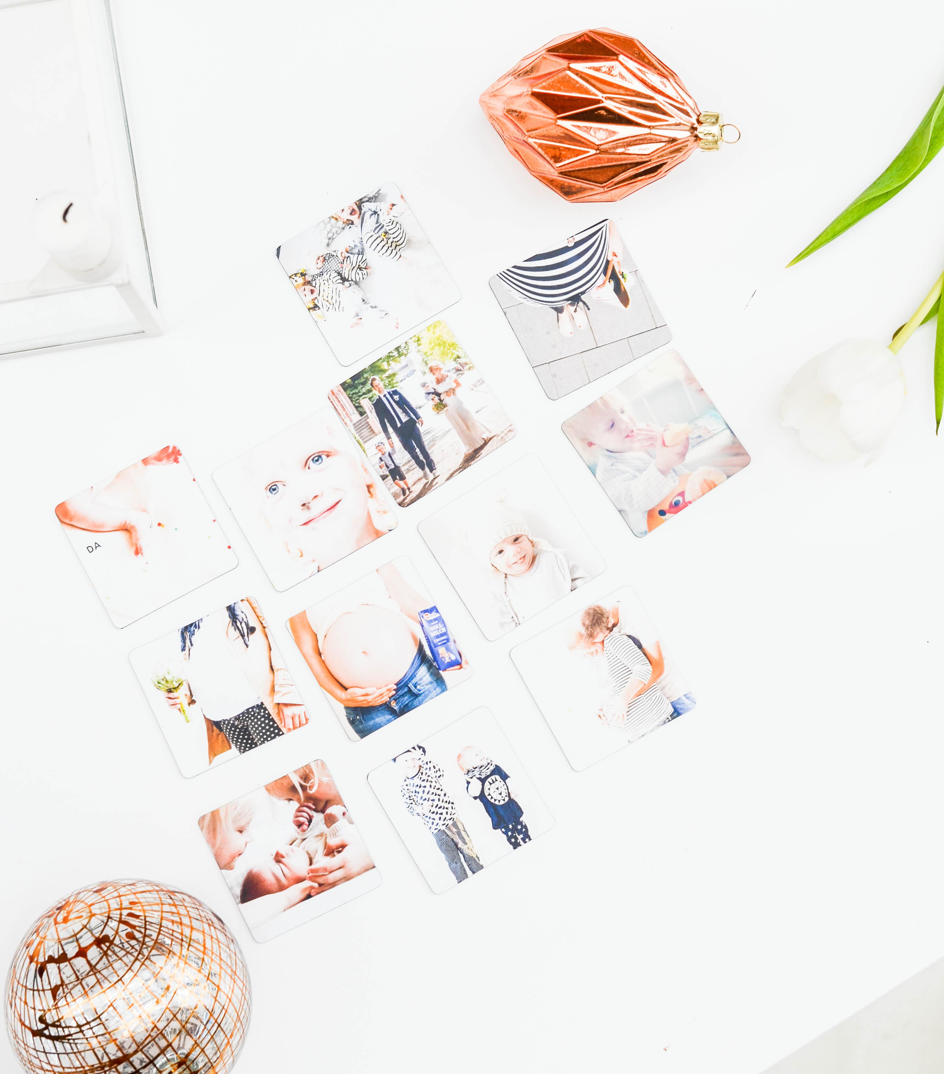 Instagramm. Magnete, Kühlschrank, Kinderfotos, Picpack