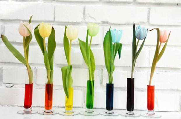 Kunstparty, Tulpen, Kindergeburtstag