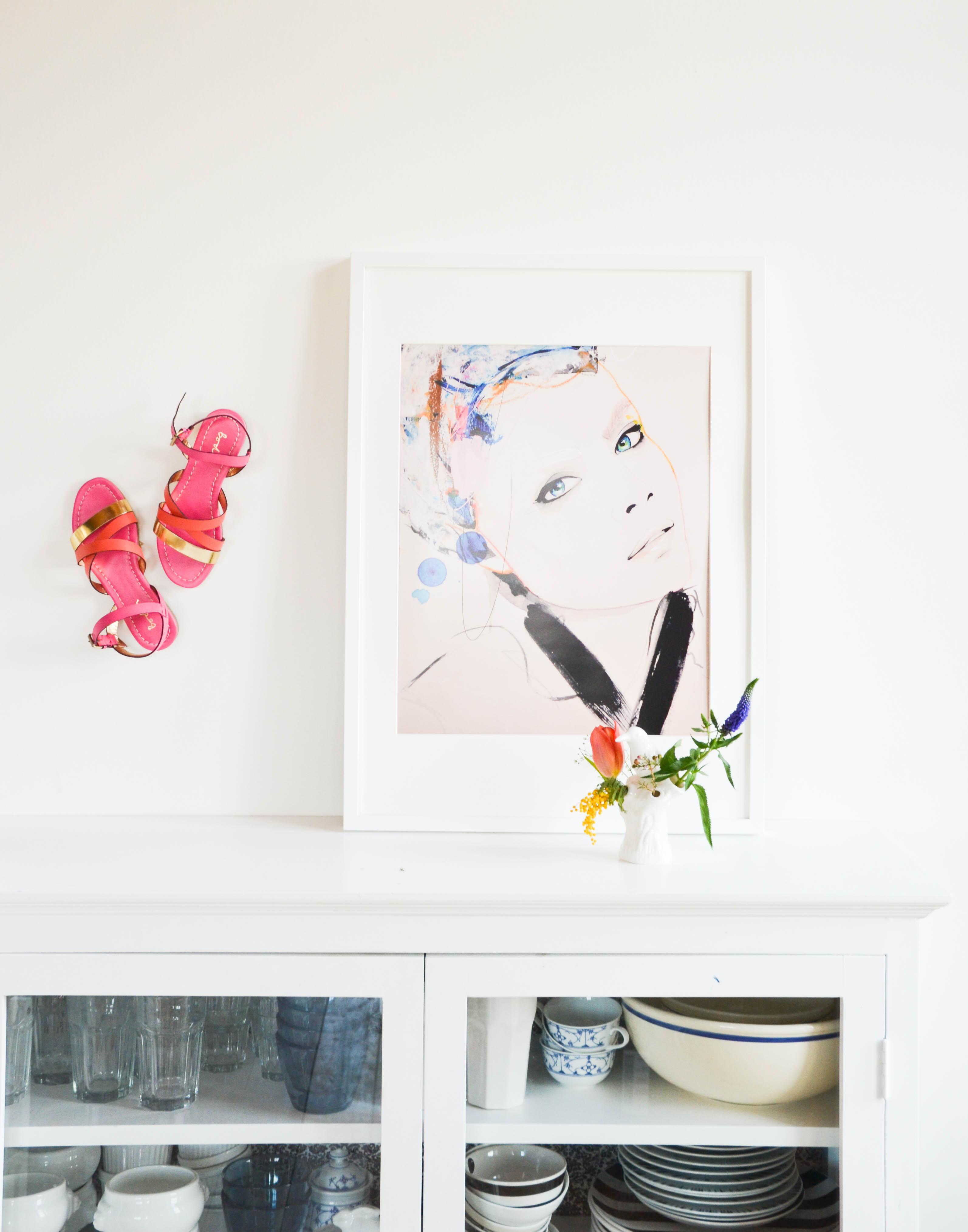 Junique, Vase, Frühling