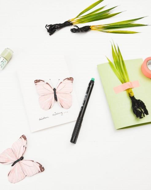 Frühling, Frühlingskarte, Postkarte
