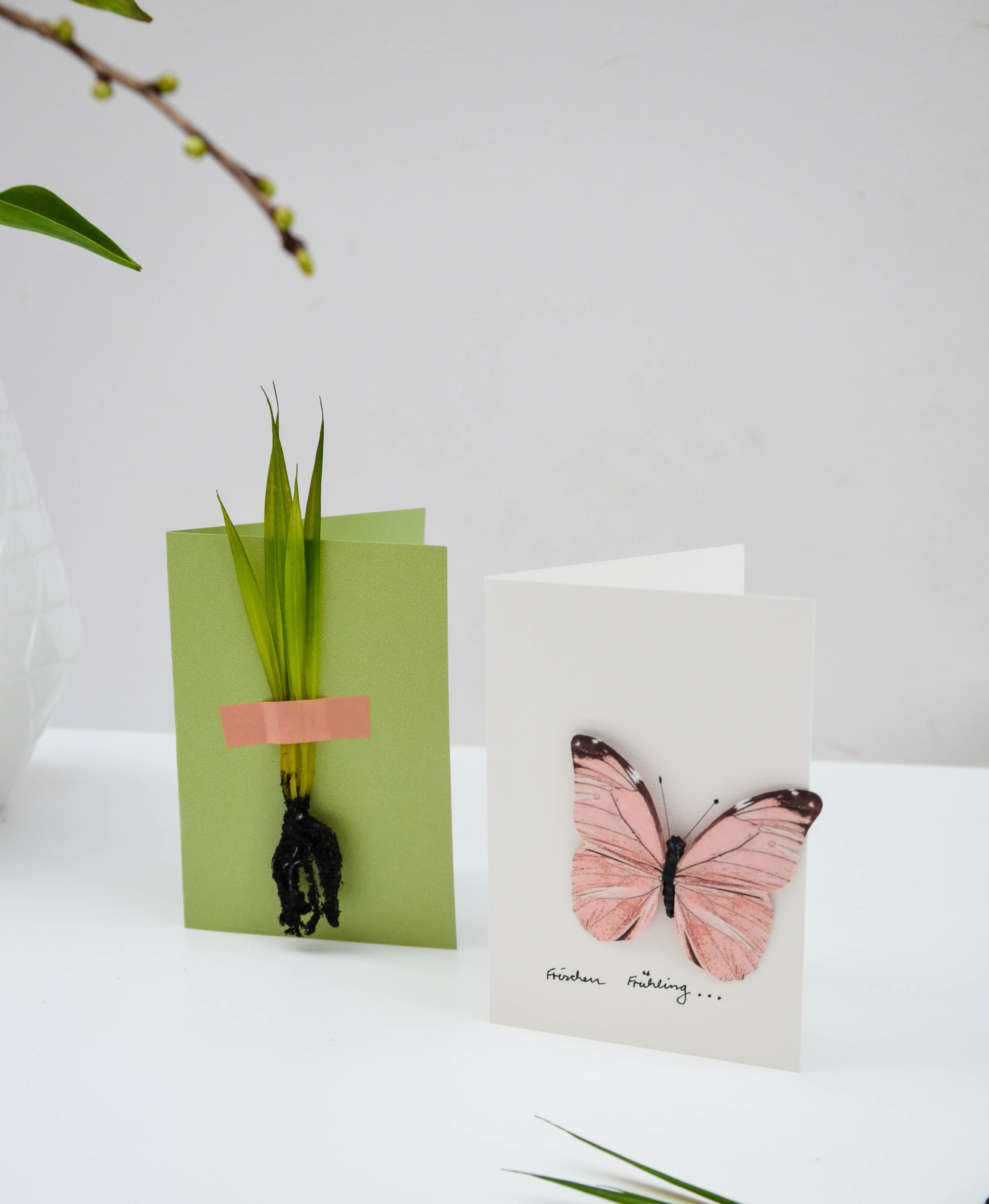Frühling, Frühlingsgruß, Postkarte
