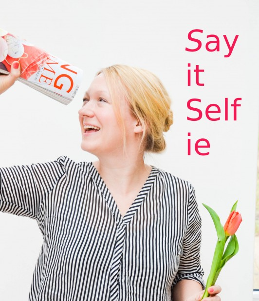Say it Selfie 19.2, Tulpen, Challange, Sagen Sie jetzt nichts