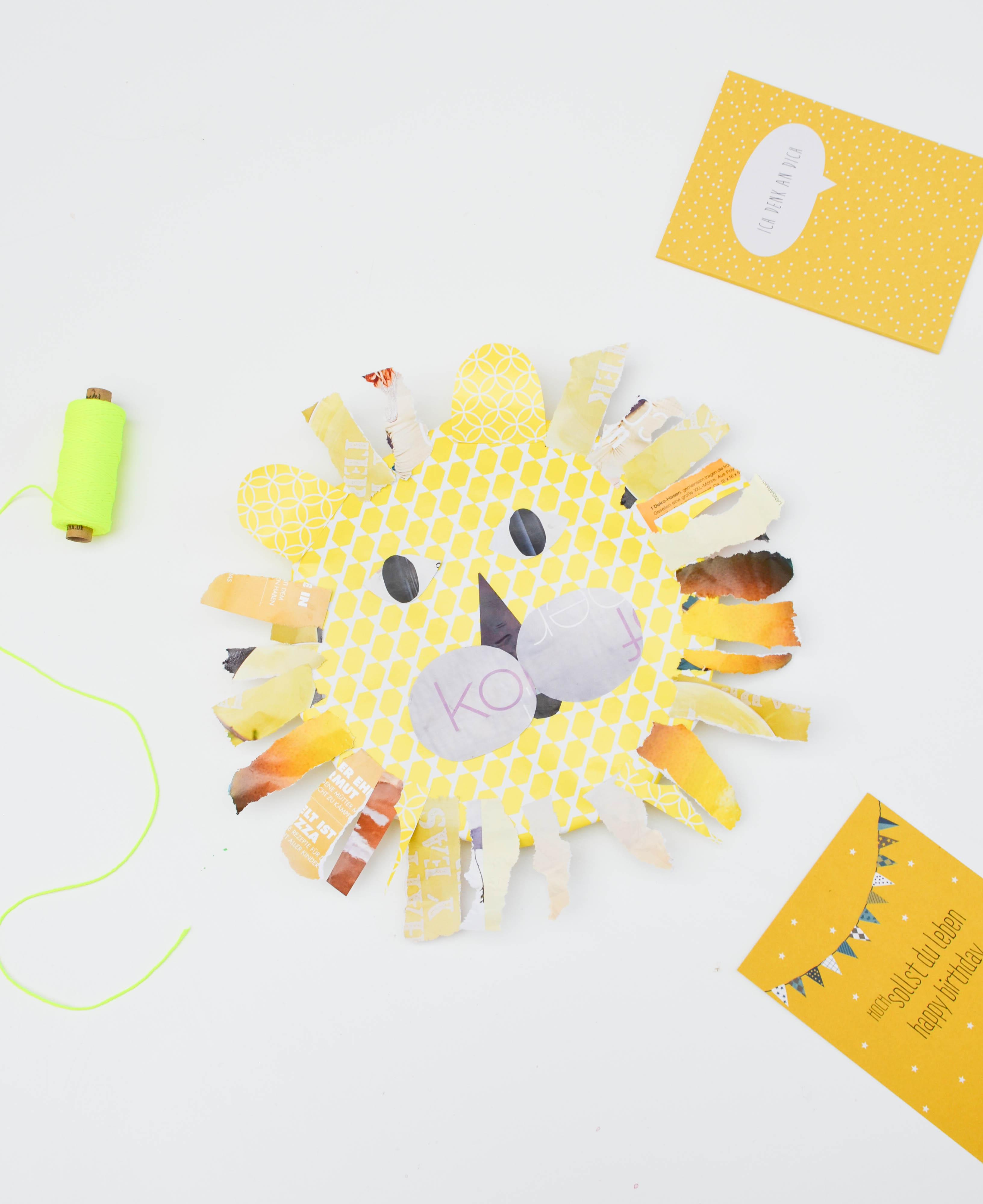 Löwe, Geschenk, einpacken