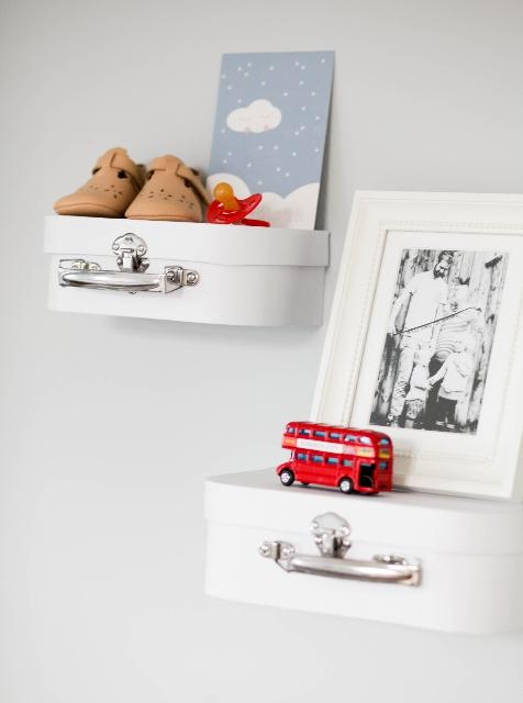 Babyzimmer, Wickeltisch, DIY-Regal