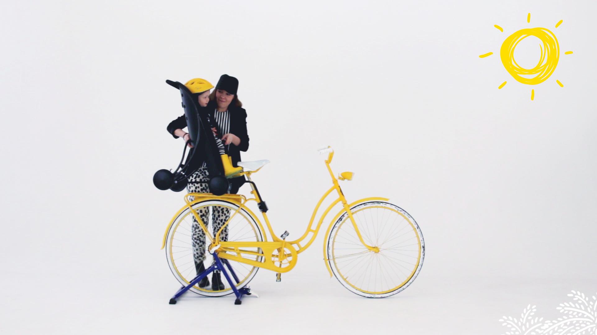 Pahoj, Fahrradsitz, Kinderbuggy, Buggy,