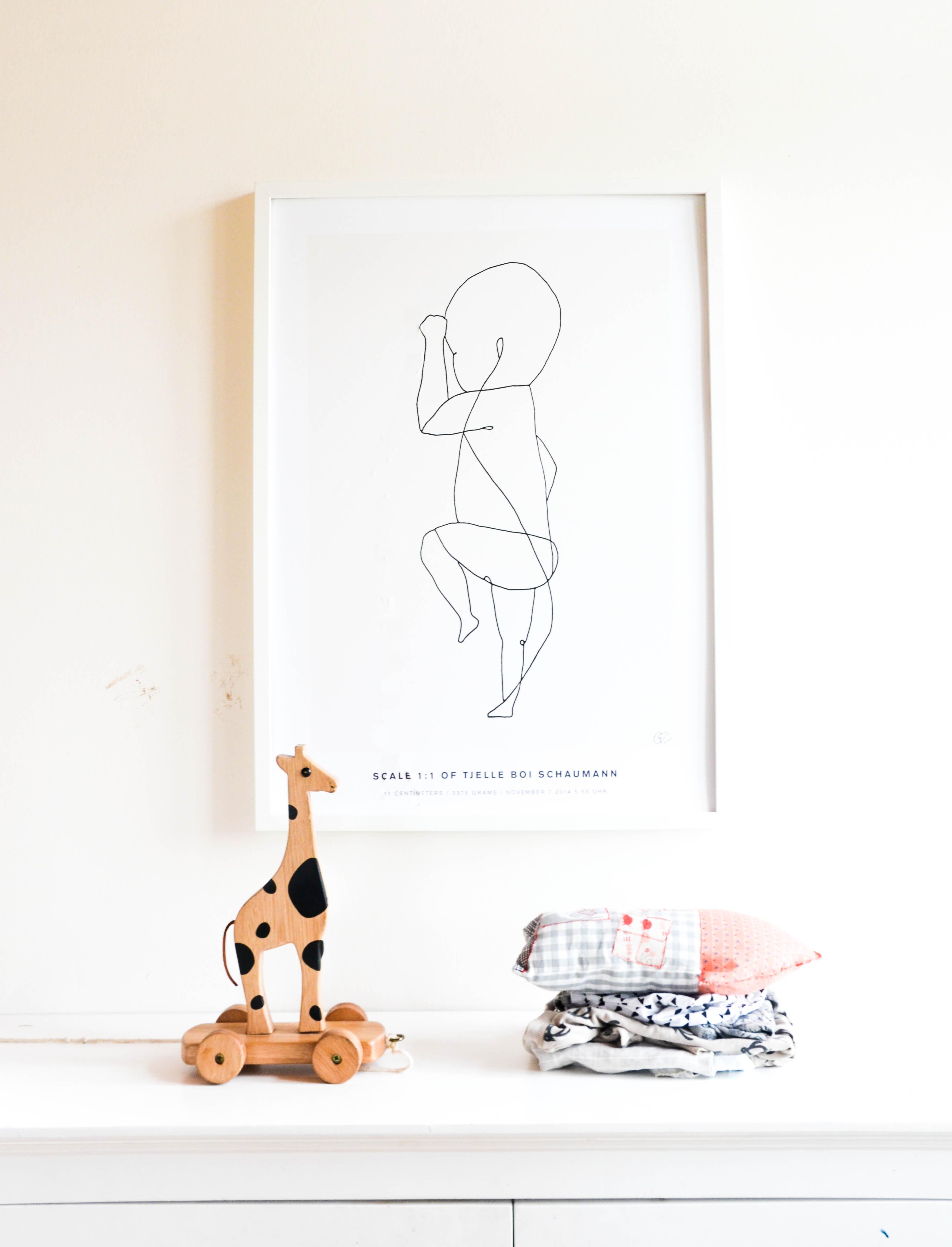 Bild, Babyzimmer, Baby