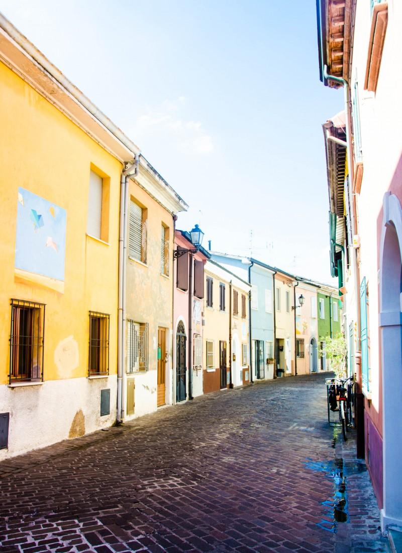 Altstadt, Rimini, Reisen mit Kindern