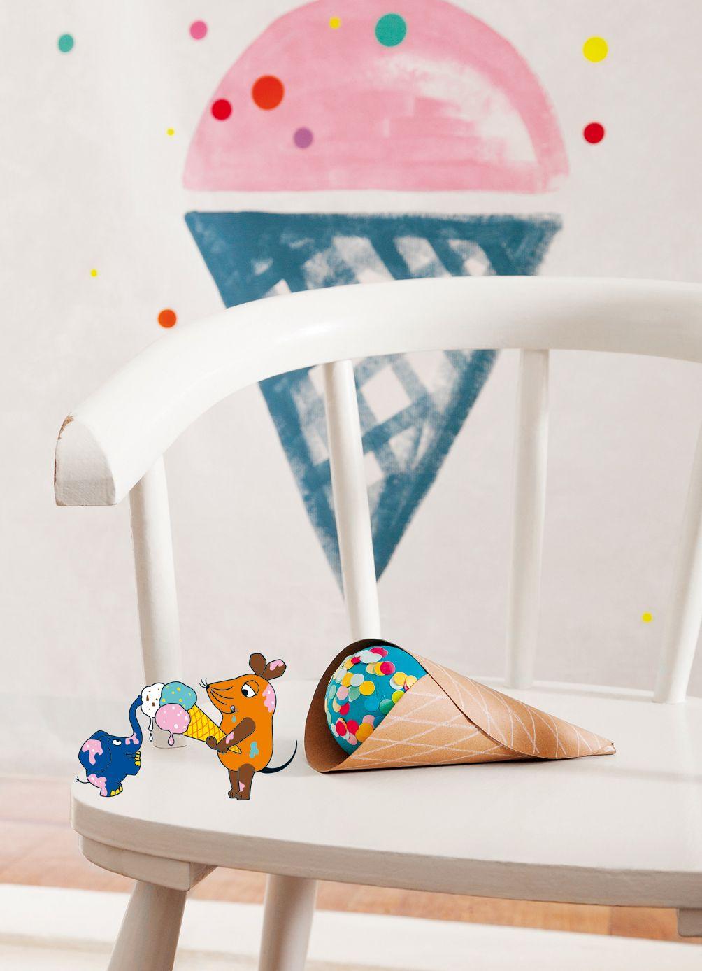 Basteln mit der Maus, Andrea Potocky, Wlkmndy