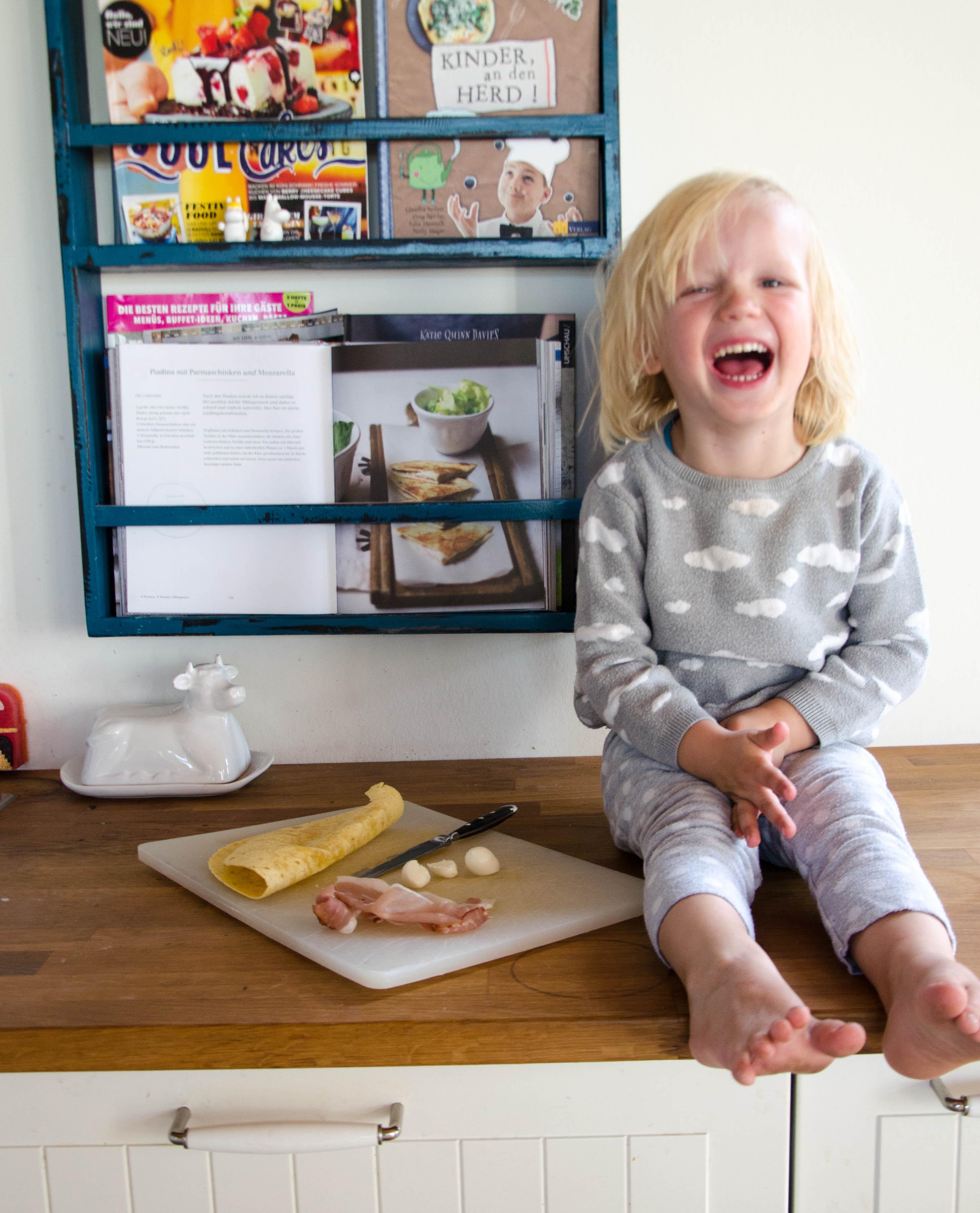 Das Mama-Kochbuch, Kochen mit Kindern