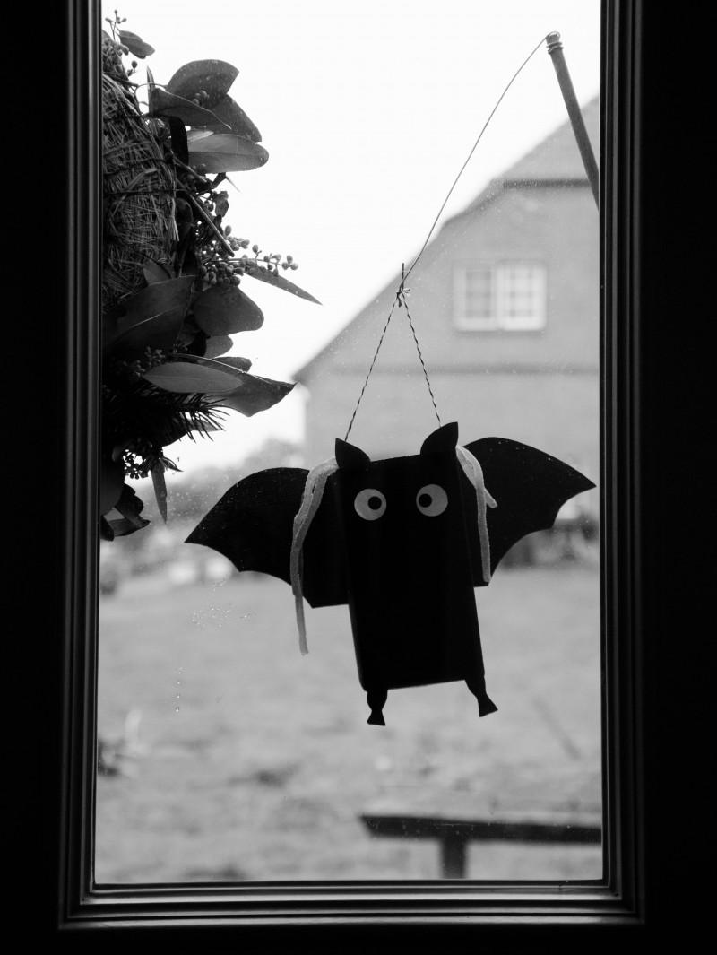 Fledermausangel, Halloween