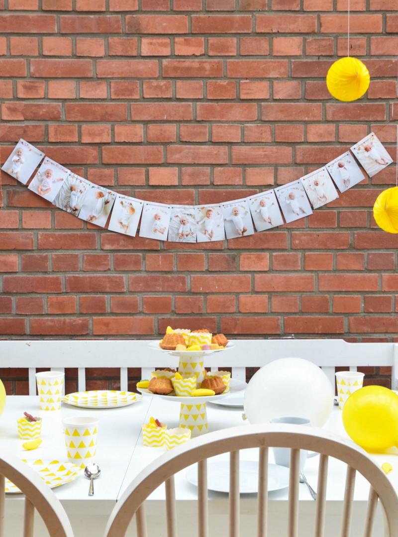 Der erste Geburtstag, ein Jahr, Kindergeburtstag