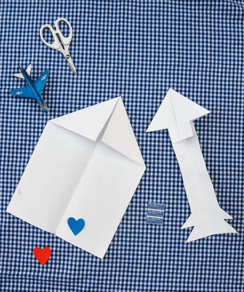 Post basteln, Post spielen, Valentinstag