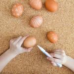 Wie hübsch: Easypeasy Muster-Eier