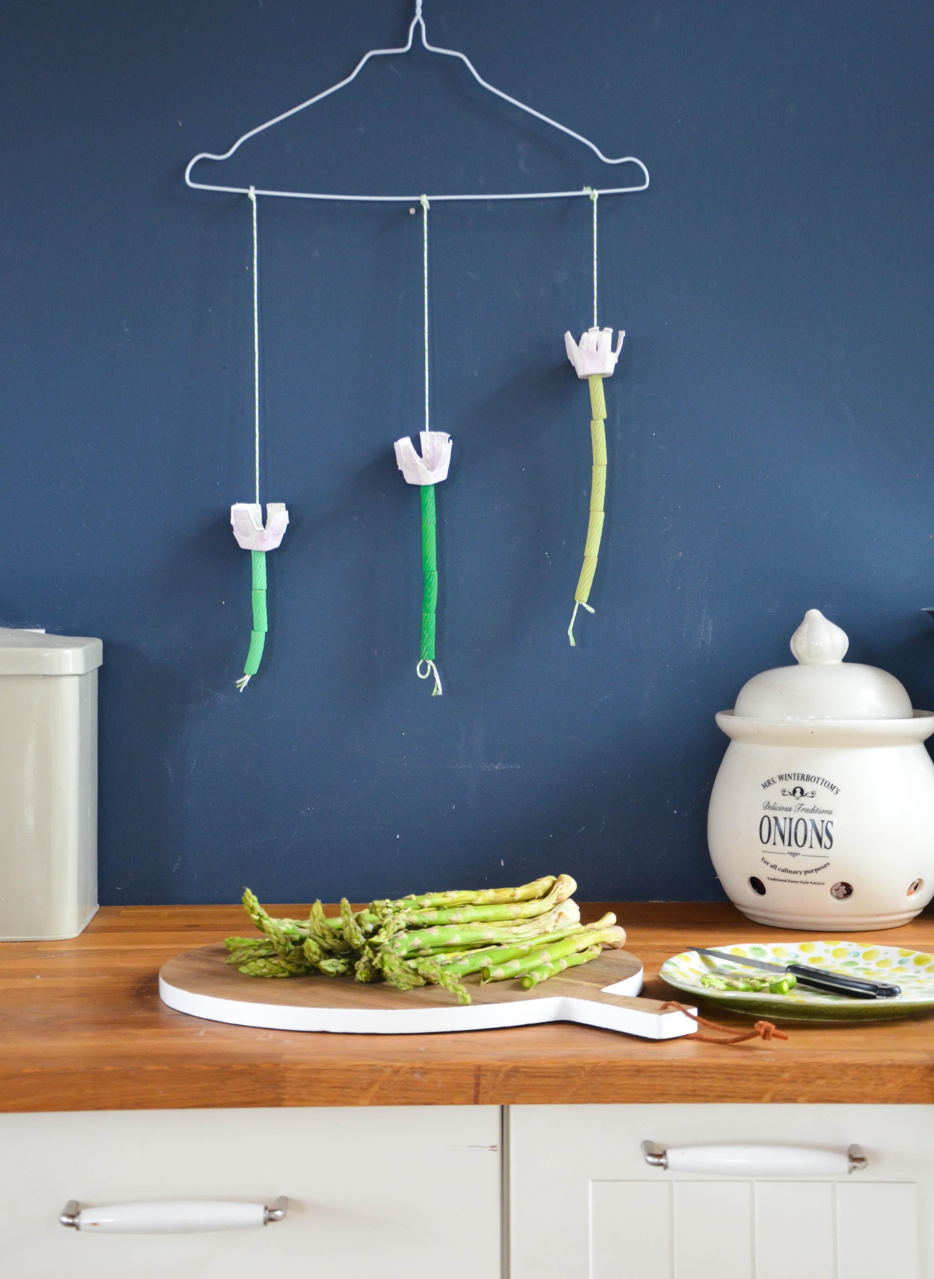 DIY mit Kids: Tulpen-Mobile - wasfürmich