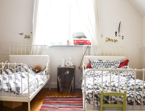 Ein neuer Mitbewohner im Kinderschlafzimmer