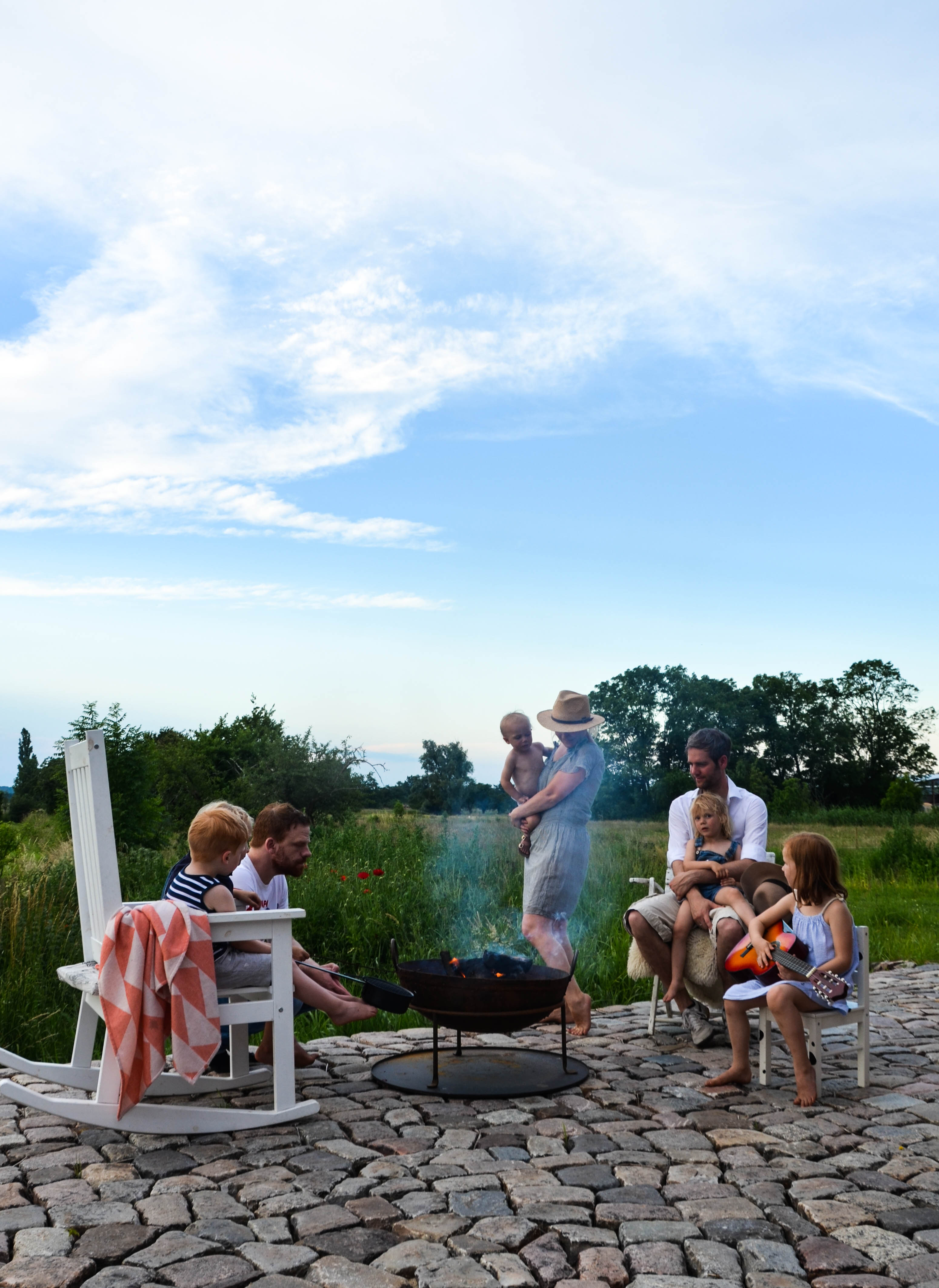 Grillparty, Popcornparty, Barefoot Living,
