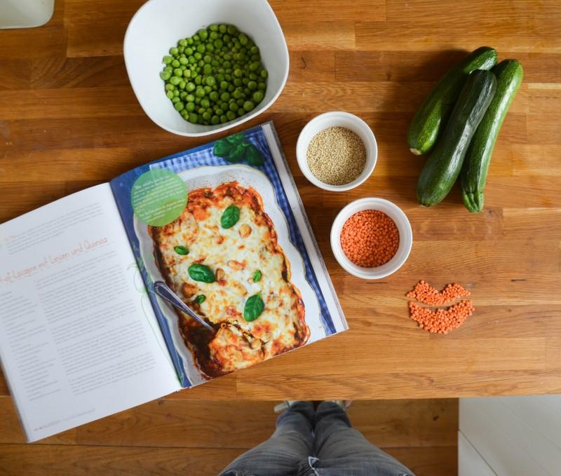 Gesund kochen ist Liebe, Lasagne,