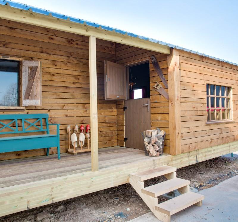 Campen für Feiglinge, Wiesenbett, Glamping, Featherdown farms