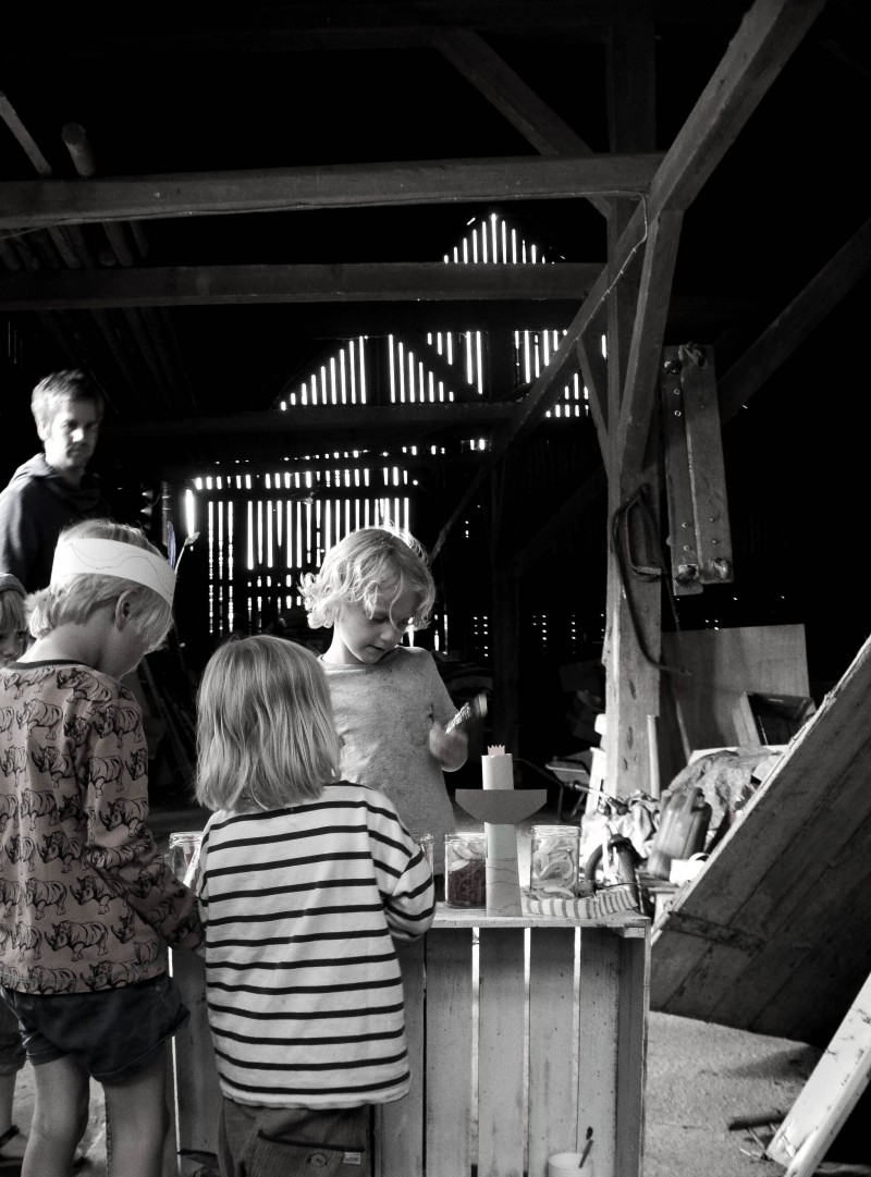 Kiosk für Kinder, Kindergeburtstag,