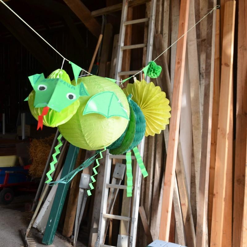 Ideen für den Kindergeburtstag, Drachenparty