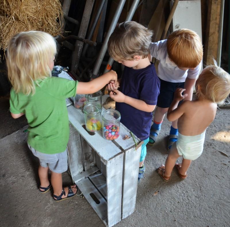 Kindergeburtstag, Geburtstagsladen, Ideen für den Kindergeburtstag,