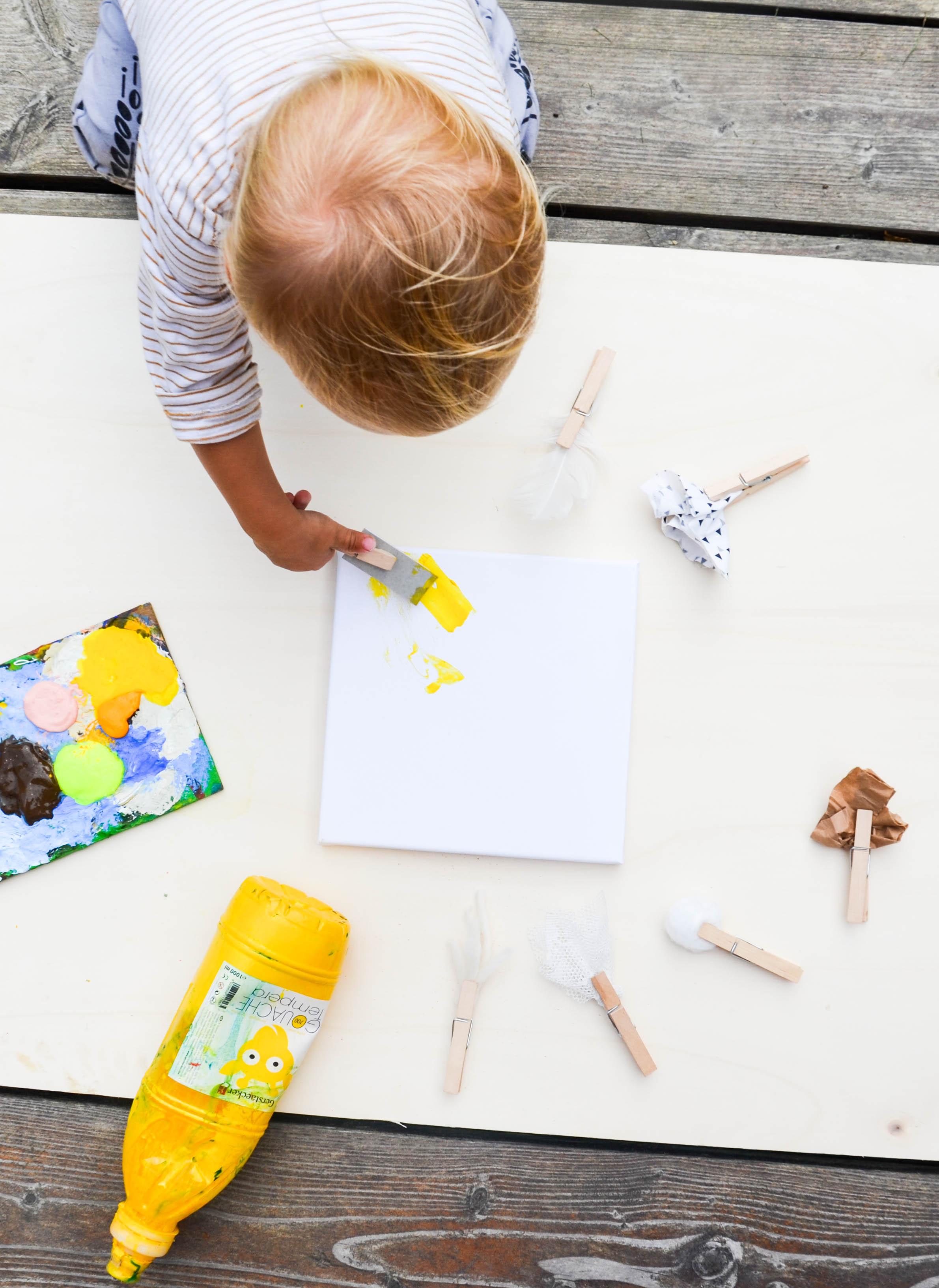 Kreativ mit Kindern,