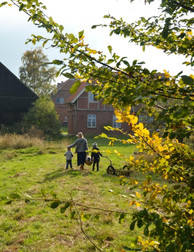 Stelton Thermoskanne, Picknick im Herbst