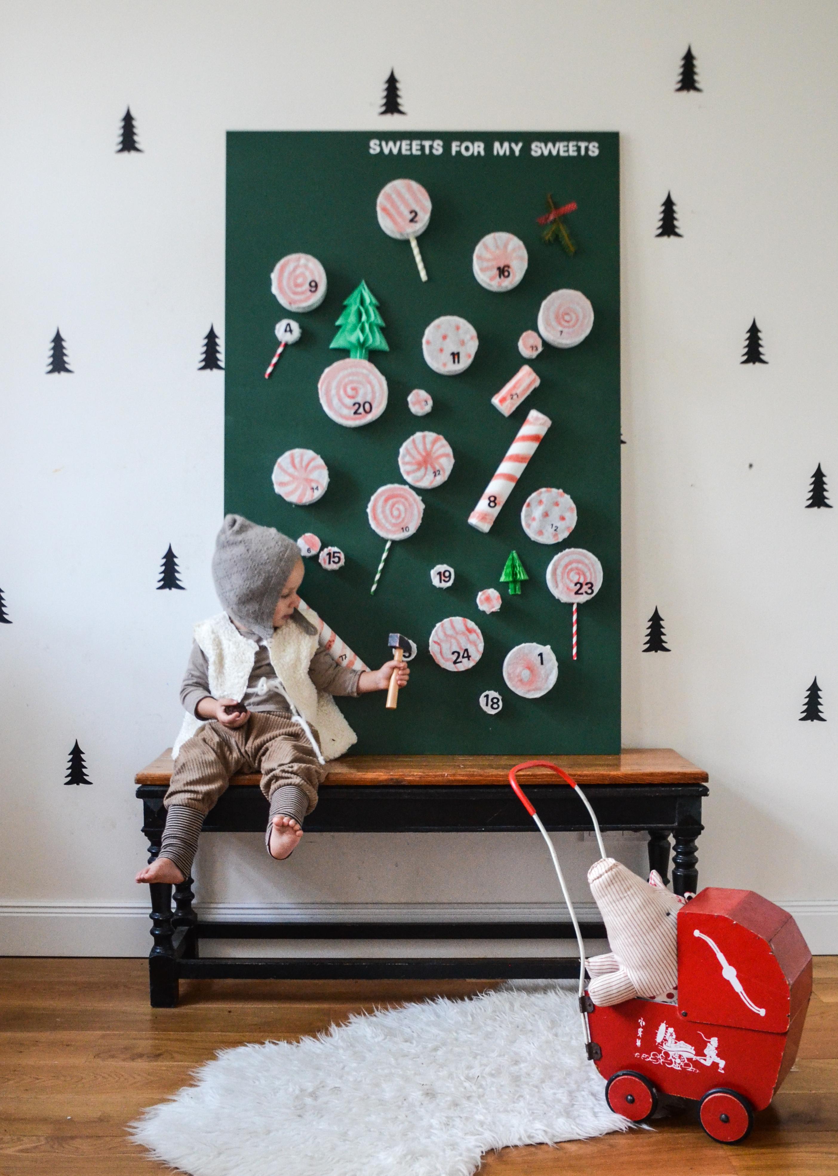 Adventskalender für Kinder selber machen