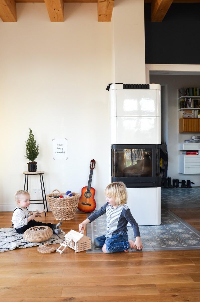 Holzbaukasten, natürliches Spielzeug,