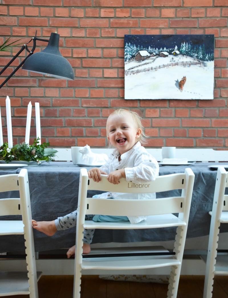 Kinderstuhl, Tripp Trapp mit Gravur,