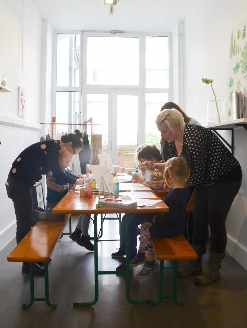 Malen, Hamburg mit Kindern