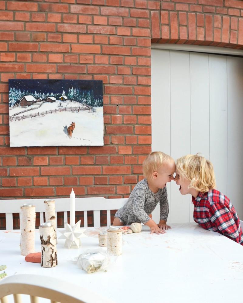 Basteln für Advent und Weihnachten, Basteln mit Kindern