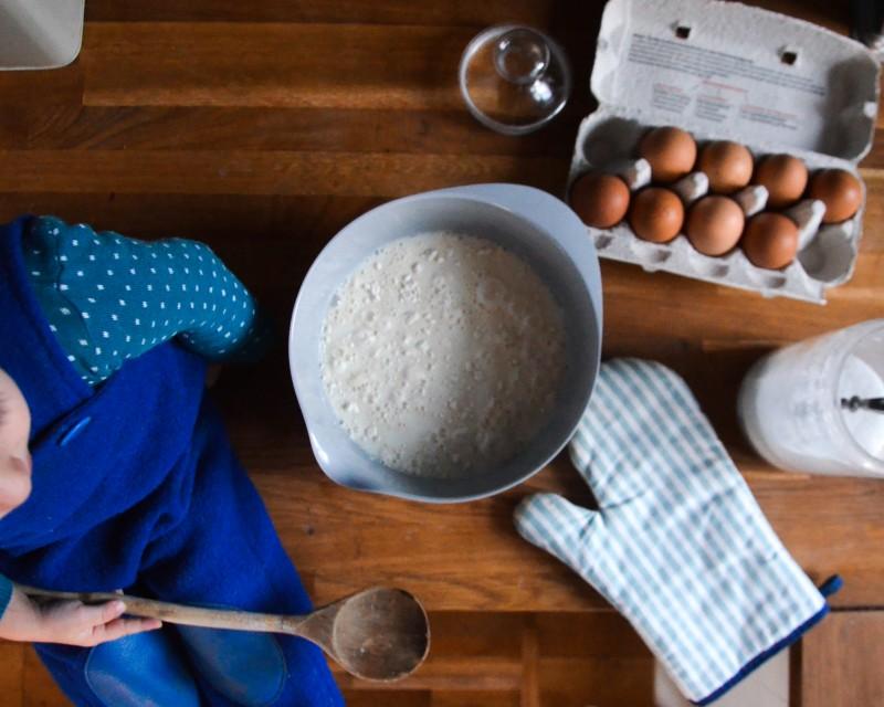 Kochen mit Kindern, Familienküche,