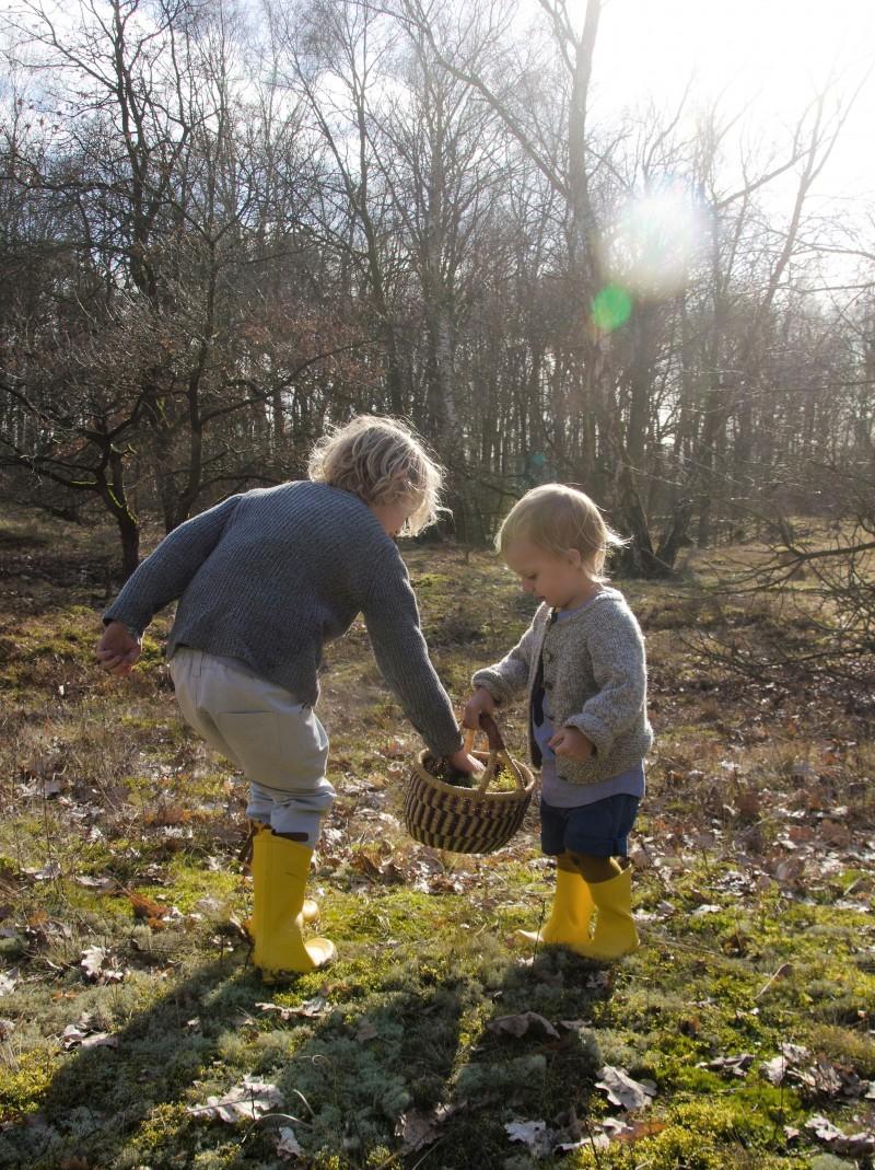 den Frühling suchen, Kinder und Frühling,
