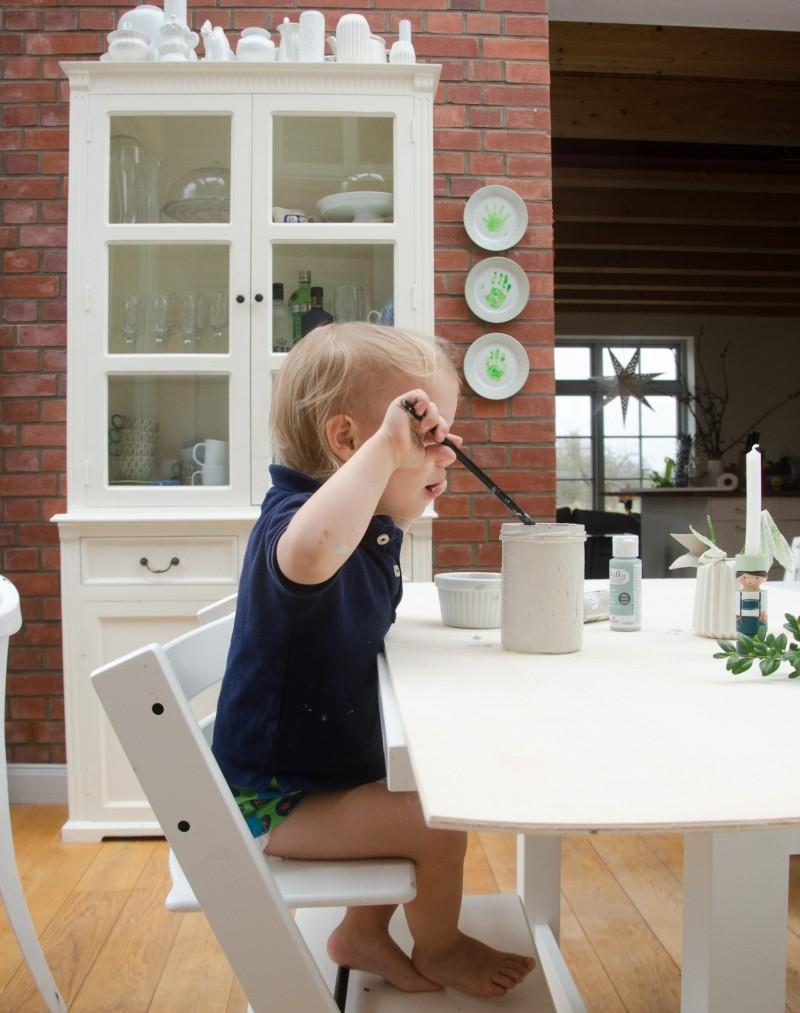 Basteln mit Kindern für Ostern, Osterdeko,