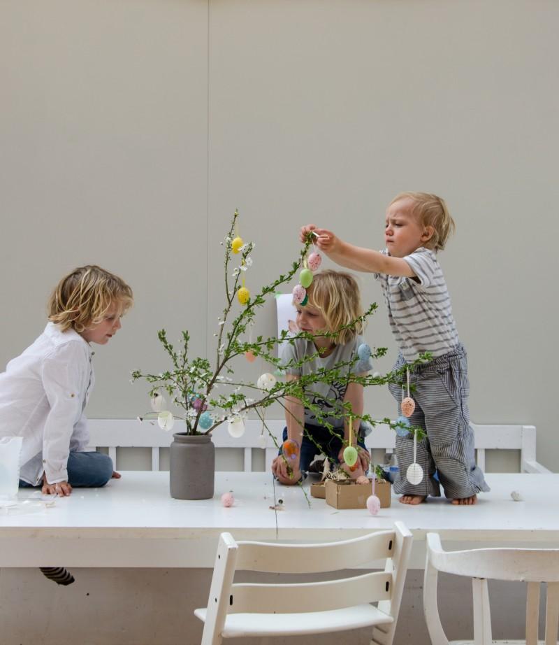 Ostern mit Kindern, Osterdeko
