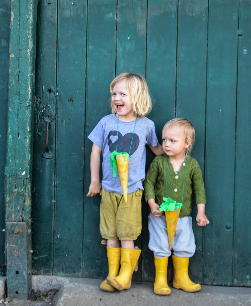 Ostern mit Kindern, basteln mit Kindern